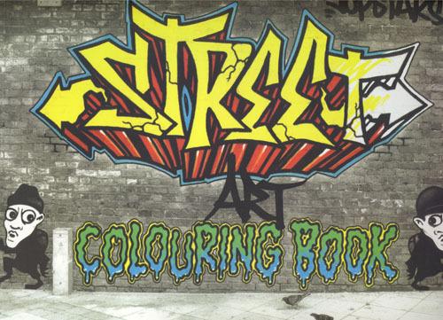 Graffiticoloringbook
